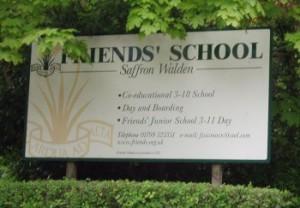 Entrance sign 2005
